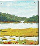 Monomoy River Acrylic Print