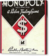 Monopoly Acrylic Print