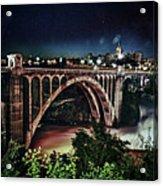 Monroe St. Bridge Acrylic Print