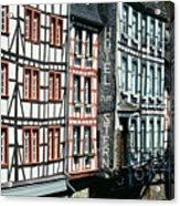 Monschau Hotel Acrylic Print