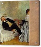 Monsieur And Madame Edouard Manet Acrylic Print