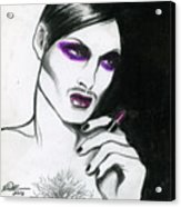Monsieur-madame Acrylic Print