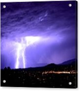 Monsoon Over Sedona Acrylic Print