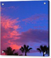 Monsoon Sunset Acrylic Print by James BO  Insogna
