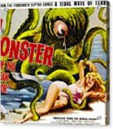 Monster From The Ocean Floor, Anne Acrylic Print by Everett