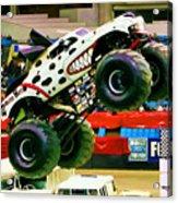 Monster Jam 2013 In Nassau Coliseum Acrylic Print