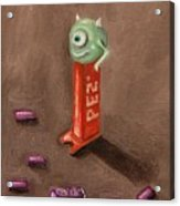 Monster Pez Acrylic Print