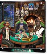 Monster Poker Acrylic Print