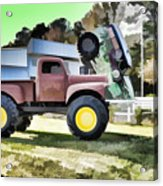 Monster Truck - Grave Digger 2 Acrylic Print