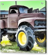 Monster Truck - Grave Digger 3 Acrylic Print