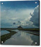 Mont Blue Acrylic Print
