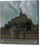 Mont Saint Michel 1 Acrylic Print