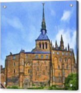 Mont Saint Michel - 2 - France Acrylic Print
