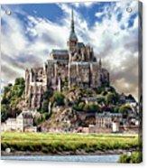 Mont Saint-michel Acrylic Print