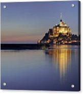 Mont Saint-michel, France Acrylic Print