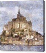 Mont Saint-michel, Normandy, France Acrylic Print