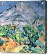 Mont Sainte Victoire Acrylic Print