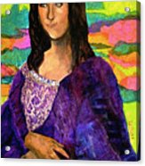Montage Mona Lisa Acrylic Print