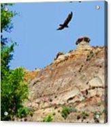 Montana Badlands ... Montana Art Photo Acrylic Print