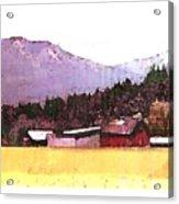 Montana Bound  Acrylic Print