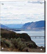 Montana Bridge Acrylic Print