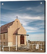 Montana Church Acrylic Print