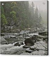 Montana Fog Acrylic Print