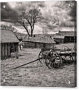 Montana Ghost Town Acrylic Print