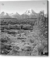 Montana Mountainscape Acrylic Print