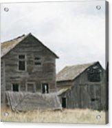 Montana Past Acrylic Print