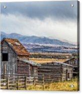 Montana Scenery Acrylic Print