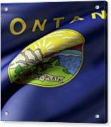 Montana State Flag Acrylic Print