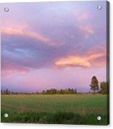 Montana Sunsets 3 Acrylic Print