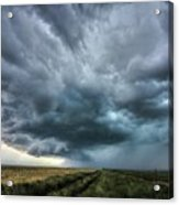 Montana Thunderstorm Acrylic Print