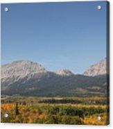 Montana View Acrylic Print