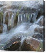 Montana Waterfall Acrylic Print by Kristy Marsich