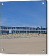 Building At The Beach, Montauk, Ny Acrylic Print