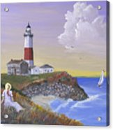 Montauk Lighthouse Acrylic Print