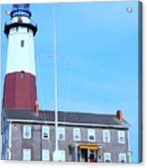 Montauk Point Light  Acrylic Print
