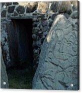 Monte Alban Danzantes Stone Acrylic Print