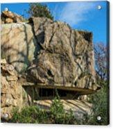 Monte Moro Bunkers - Bunkers Monte Moro Acrylic Print