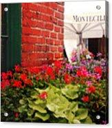 Montecillo  Acrylic Print