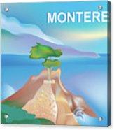 Monterey Bay California Horizontal Scene Acrylic Print