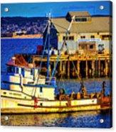 Monterey Bay Fishing Boat Acrylic Print