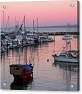Monterey Bay Harbor Acrylic Print