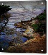 Monterey Coast Acrylic Print by Jen White