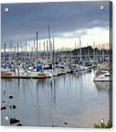 Monterey Harbor - California Acrylic Print by Brendan Reals