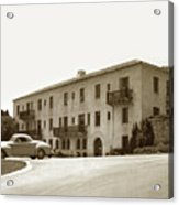 Monterey Hospital Was Built In 1930 At 576 Hartnell St, Monterey Acrylic Print