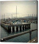 Monterey Marina Acrylic Print