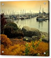 Monterey Marina Vista Acrylic Print
